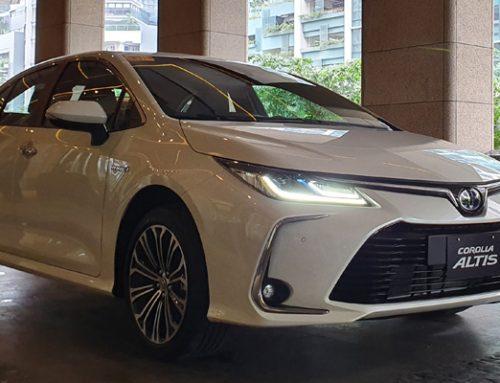 All New Corolla Altis Hybrid Berlimpah Fitur Keselamatan dan Hiburan